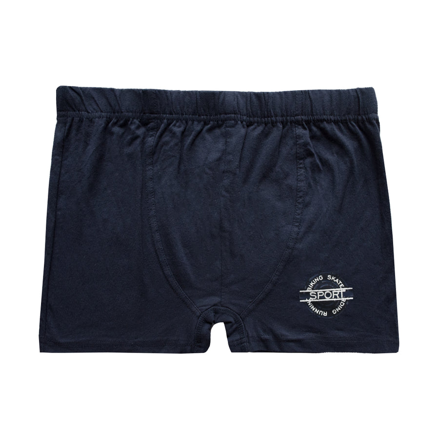 Biking Skate Dark Navy Sports Boxer Shorts - Deeds.pk