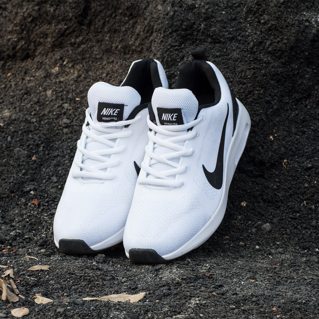 Air Pure White Shoes - Deeds.pk