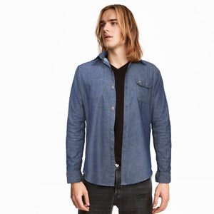 Funkys Vogue Denim Casual Shirt