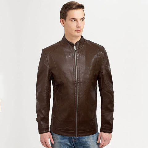 Fete Leather Biker Jacket