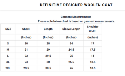 Definitive Designer Woolen Coat