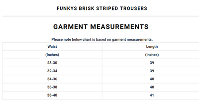 Funky's Brisk Striped Trousers