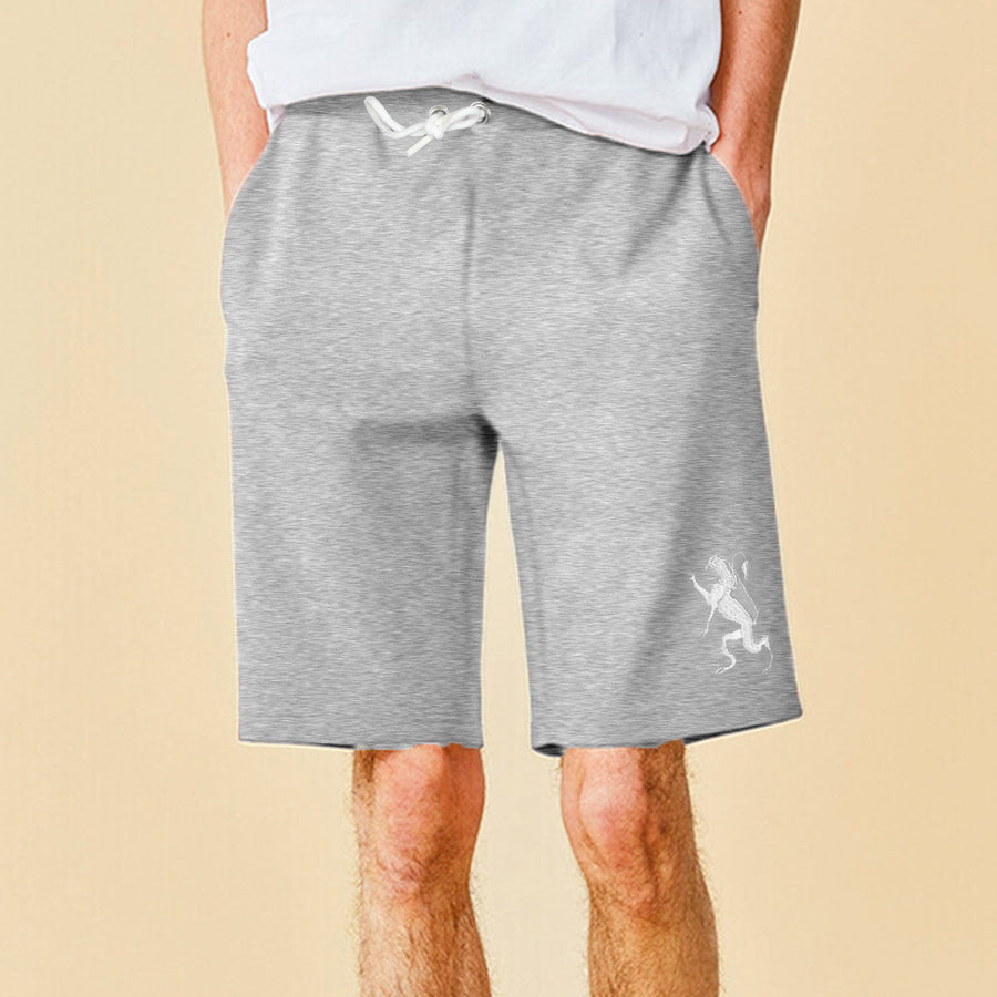 ESSENTIAL MEN supreme LOGO TERRY SHORTS