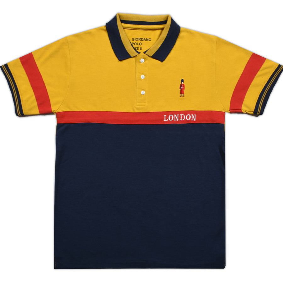 Funky's London polo high mustard