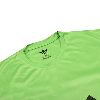 Premium Massive Logo Parrot Green Dry Fit Tee
