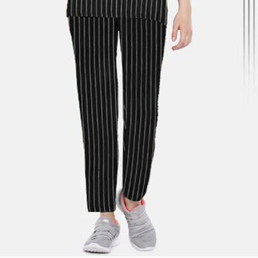 FUNKYS PRINTED STRIPE WOMEN tROUSER (WITH MINOR FAULT)