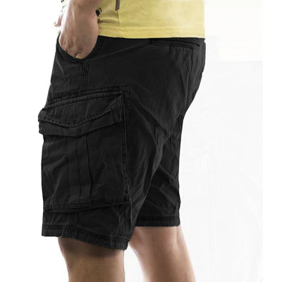Funky's 6 Pockects Men Cotton Cargo Shorts (With Minor Fault)