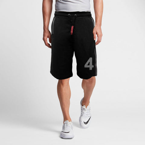 Funkys Black Vertical Striped B-Quality Shorts