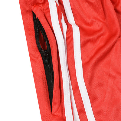 Poly Athletic Dry Fit Red Suit