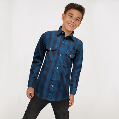 Funkys Boy's  Checkered Casual Shirt ( 3 YEARS TO 14 YEARS )