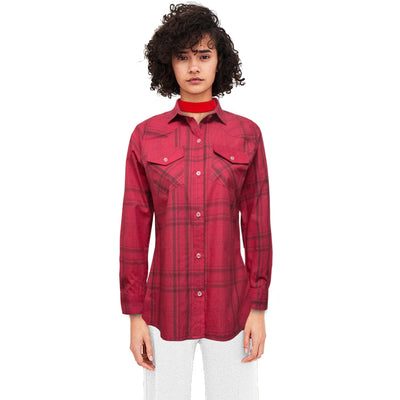 Funky's Ladies Semi Formal Double Pocket Shirt