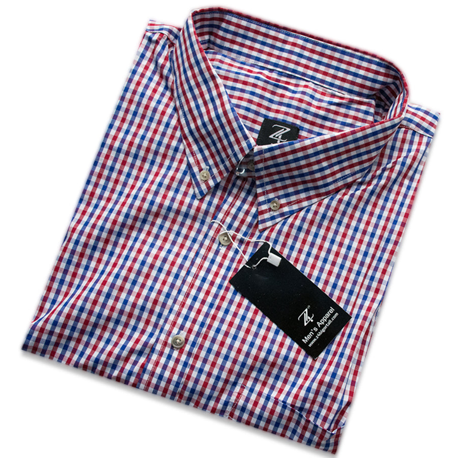 Authentic Checkerd Big & Tall half sleeves Shirts