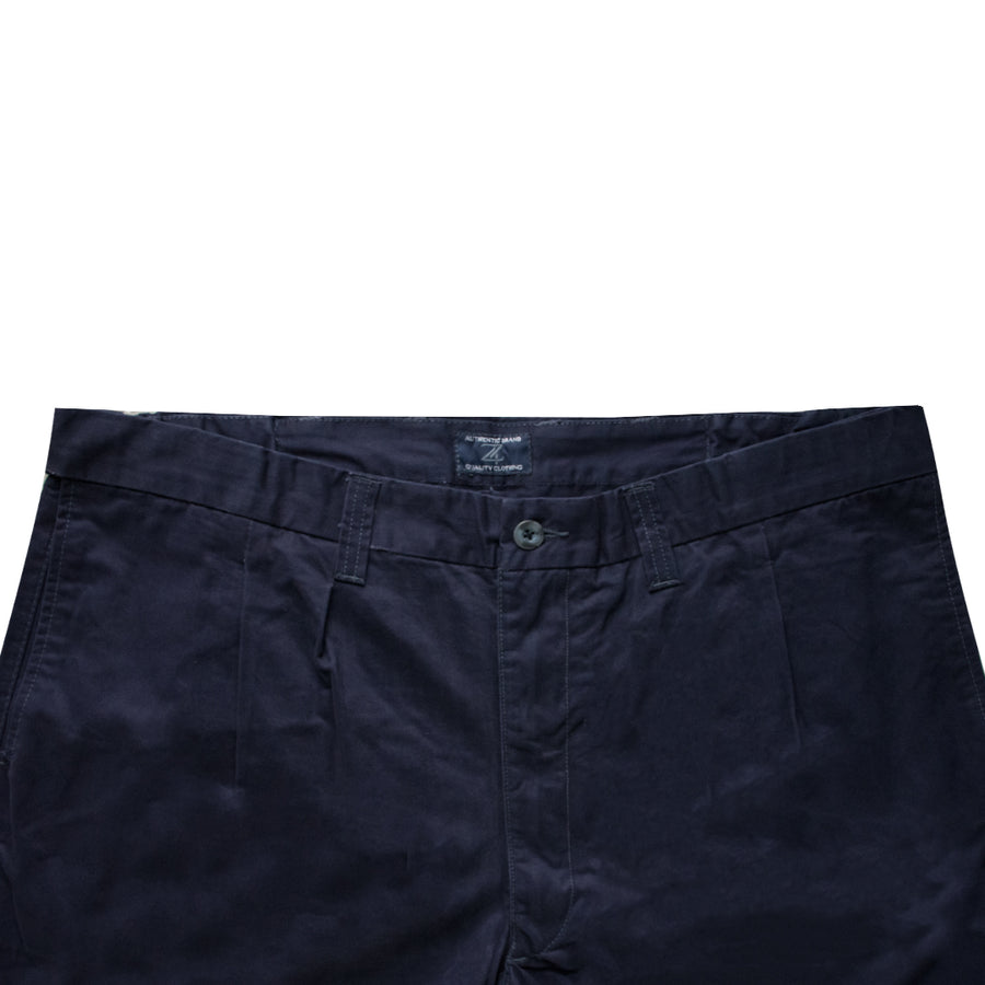 Authentic Premium Dark Blue Big & Tall Cotton Shorts ( Waist 40 to 58) - Deeds.pk