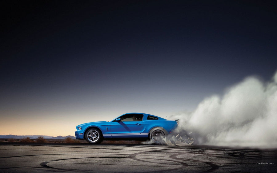 Burnout Ford Shelby - Deeds.pk