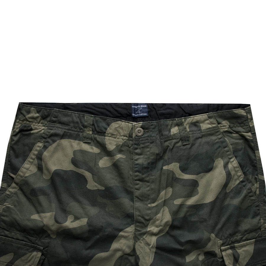 Authentic Premium Camo Big & Tall Cotton Shorts ( Waist 42 to 58) - Deeds.pk