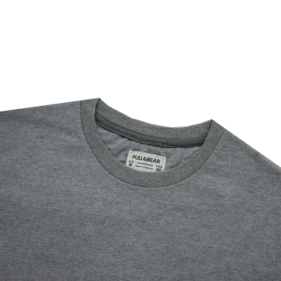 P&B Side Striped Grey Sweatshirt