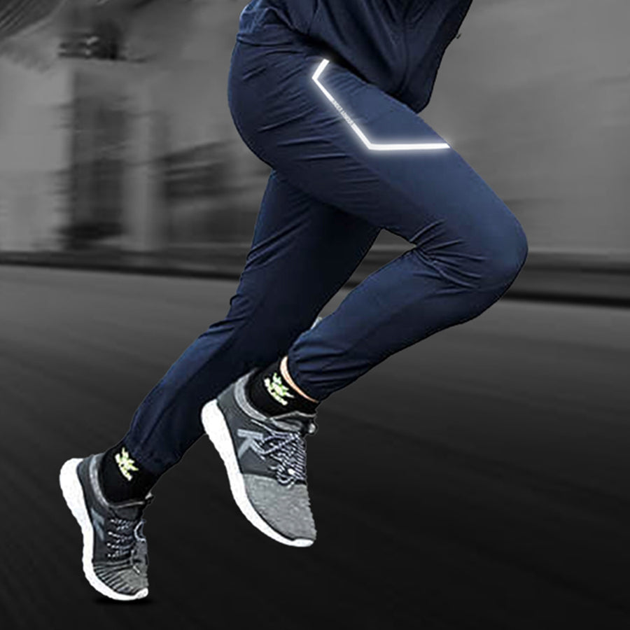 LIGHTNING FLASH NAVY TRAINING TRACK TROUSER