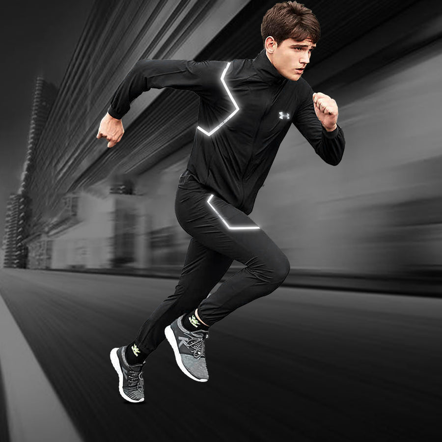 Lightning Flash Black Training Track Suit