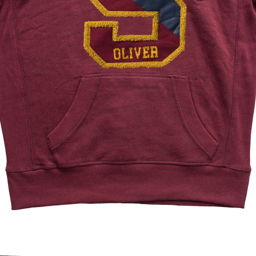 s.Oliver Maroon Fashion Hoodie - Deeds.pk