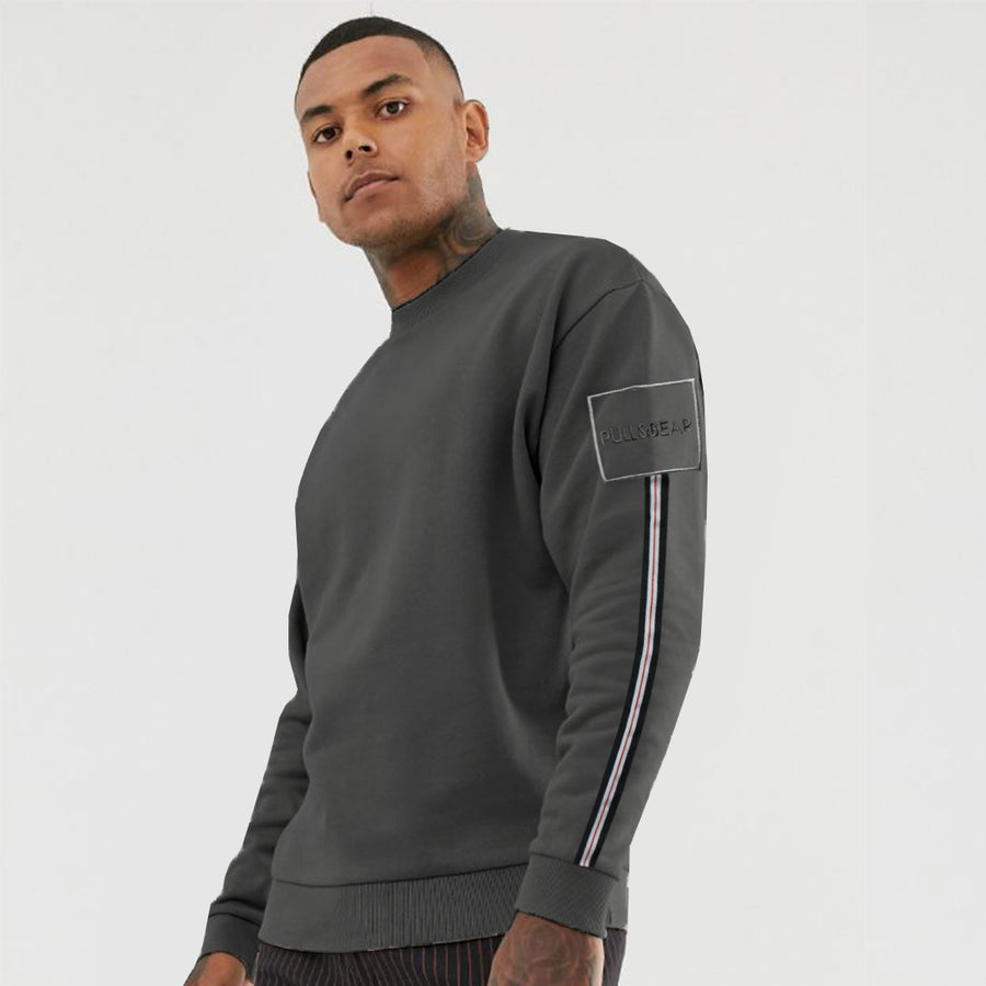 P&B Side Striped Premium Sweatshirt