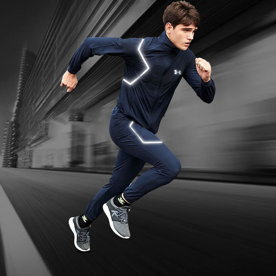 Lightning Flash Navy Training Track Suit