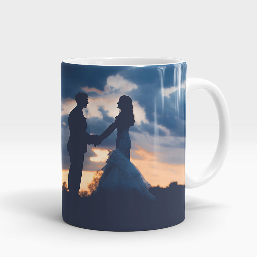 Bride & Groom Sunset - Deeds.pk