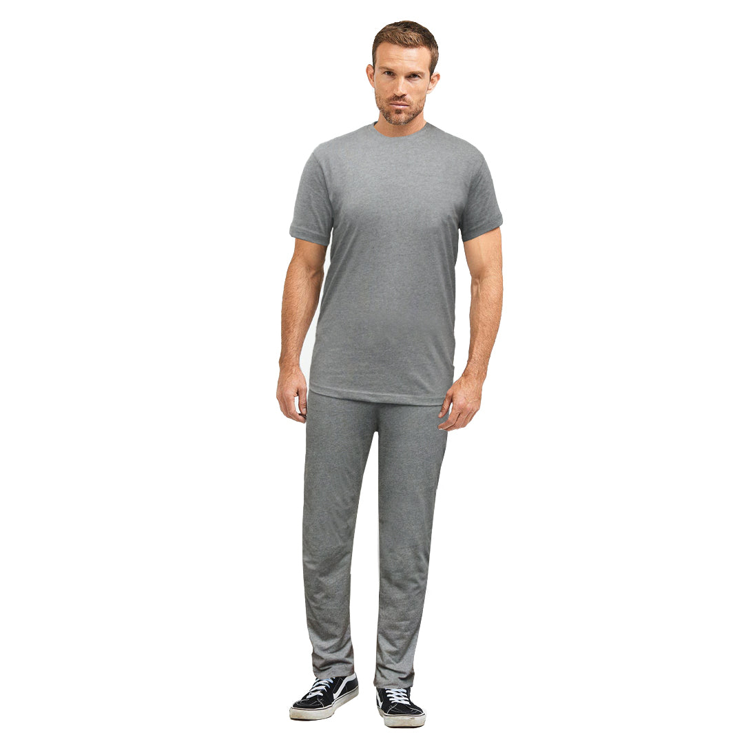 Funky's Plain Heather Grey Men's Night Suit Plus Track Suit