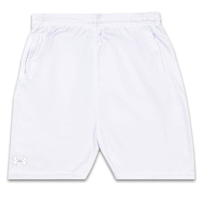 Fuller Cut Loose Dry Fit WHITE Shorts