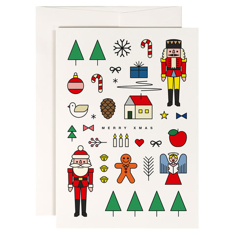 Xmas Mashup Greetings Card