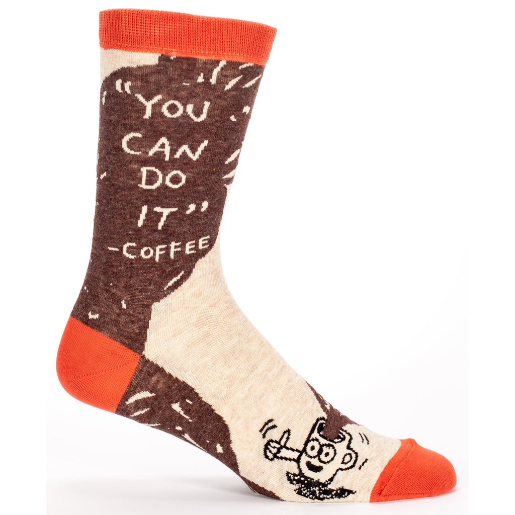 You Can Do It Coffee Socks