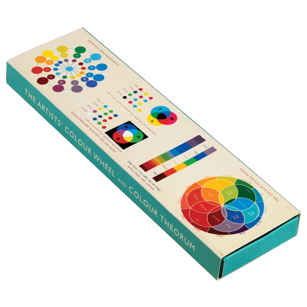 6 Pencils in Colour Wheel Box - HOWKAPOW