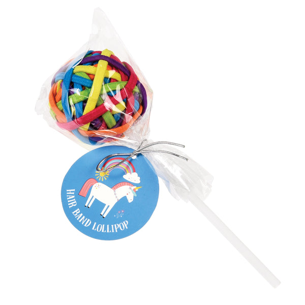 Unicorn Hair Band Lollipop - HOWKAPOW