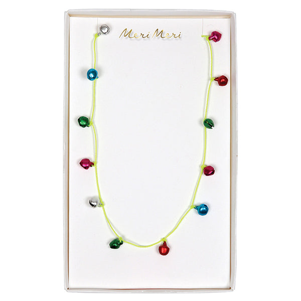 Coloured Bells Necklace - HOWKAPOW