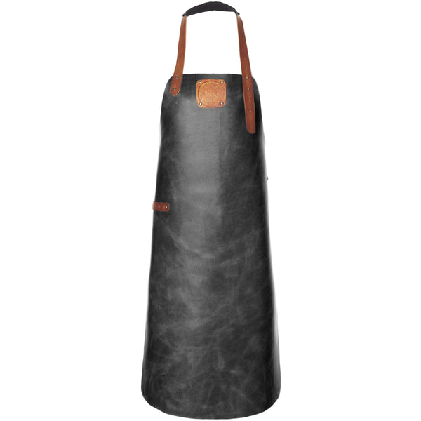 Witloft Apron in Black & Cognac