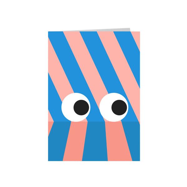 Eyes Card - HOWKAPOW