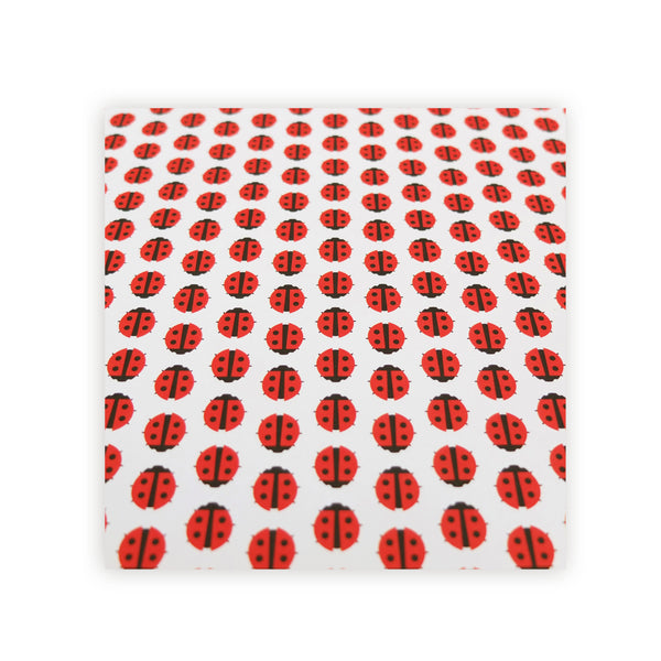 Ladybird Wrapping Paper - HOWKAPOW