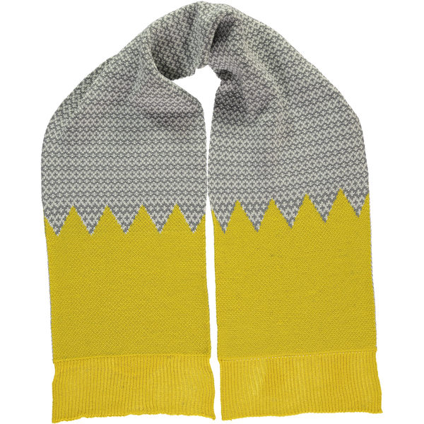 Yellow Graphic Scarf