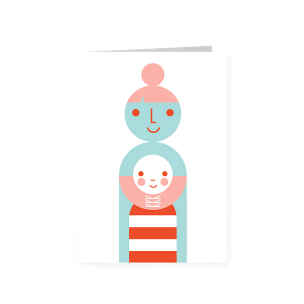 Mother & Child Card - HOWKAPOW
