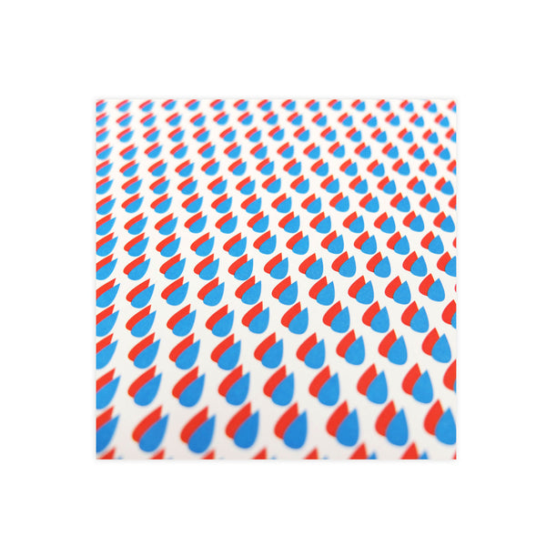 Raindrop Wrapping Paper - HOWKAPOW