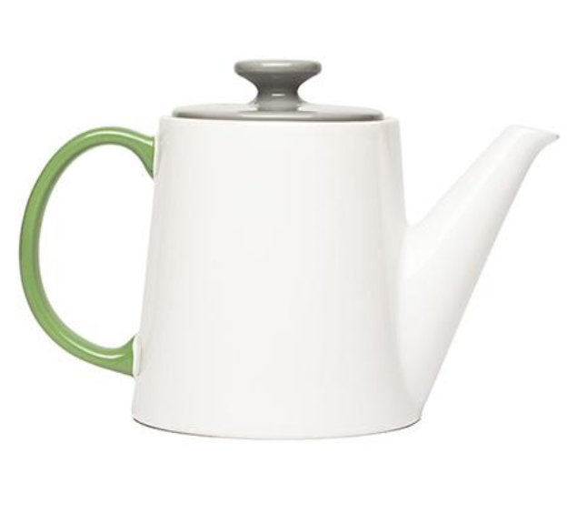 My Tea Pot - White - HOWKAPOW