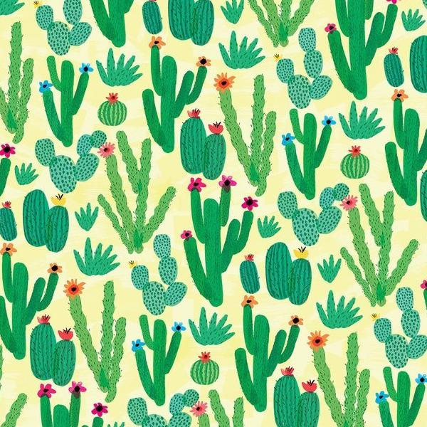 Cactus Field Gift Wrap