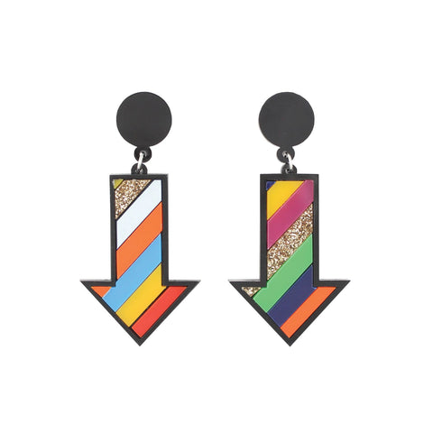 Arrow Ear Rings - HOWKAPOW