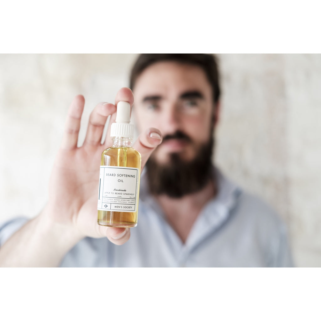 Beard Oil by Men's Society - HOWKAPOW