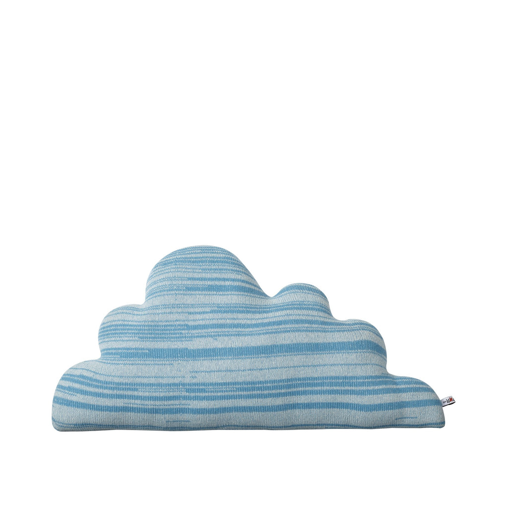 Blue Cuddly Cloud Cushion - HOWKAPOW