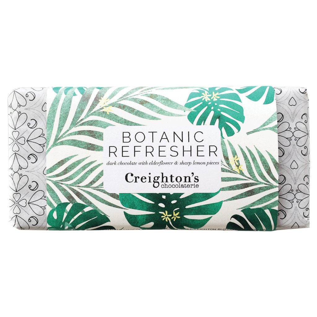 Botanic Refresher Chocolate Bar - HOWKAPOW
