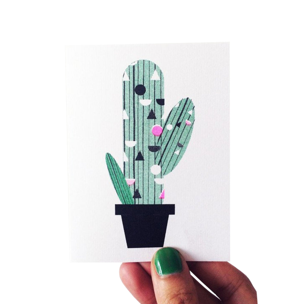 Cactus Mini Card - HOWKAPOW