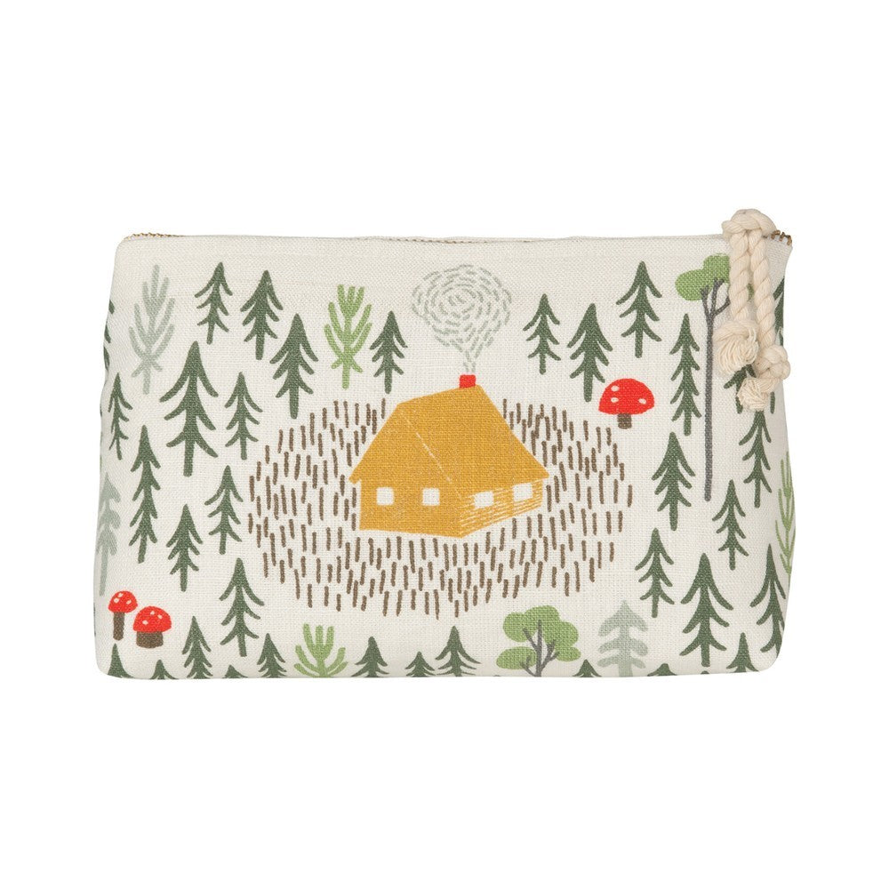 Retreat Small Cosmetic Bag - HOWKAPOW