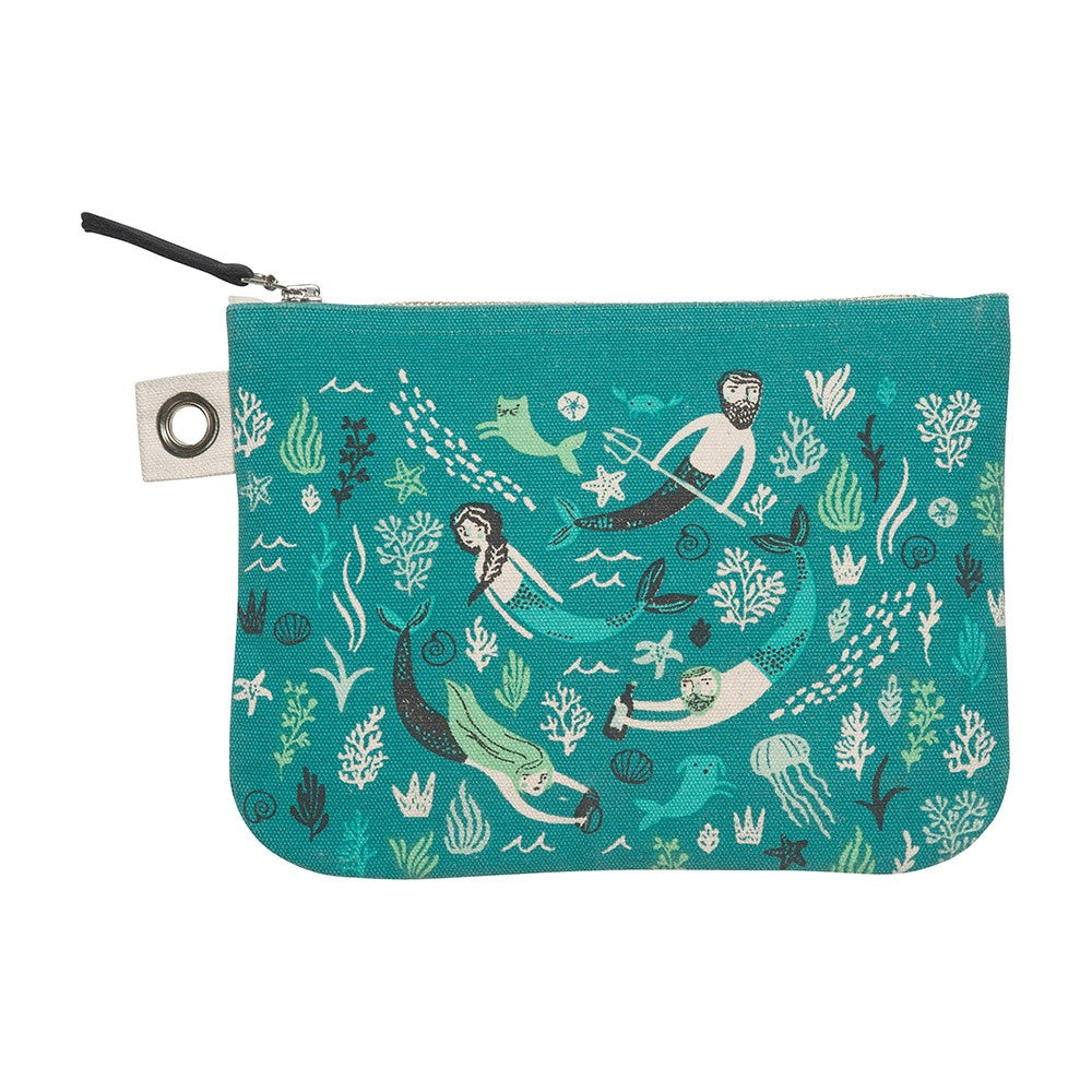Sea Spell Large Pouch - HOWKAPOW