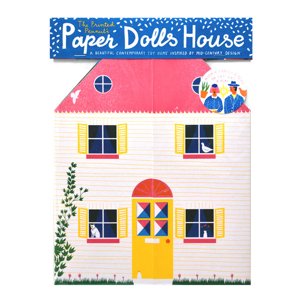 Little Paper Doll's House Toy - HOWKAPOW