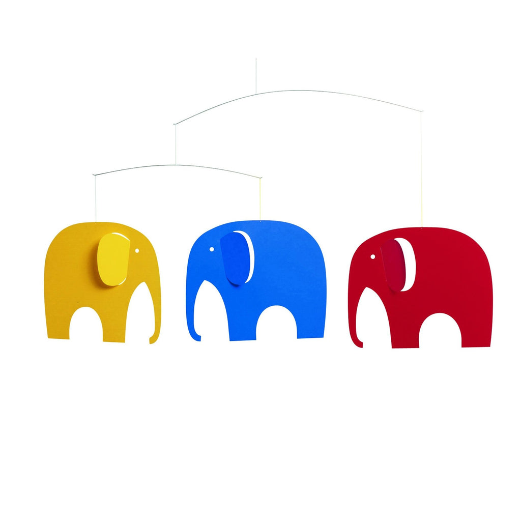 Flensted Elephant Party Mobile - HOWKAPOW